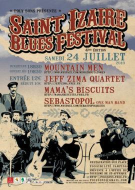 Saint-Izaire Blues Festival - affiche 2010