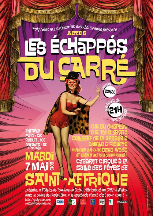 Les Échappés du Carré - Acte 5 - Cabaret Cirque à Saint-Affrique
