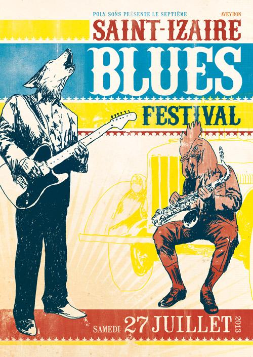 Saint-Izaire Blues Festival 2013