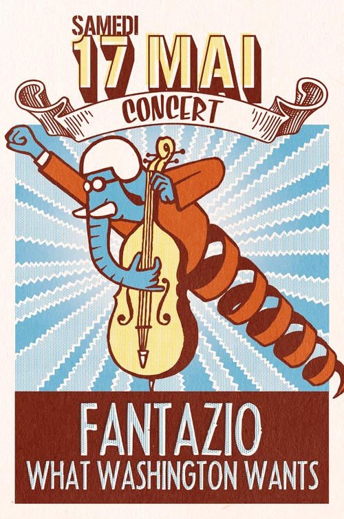 concert 17 mai St-Affrique - Fantazio - What Washington Wants