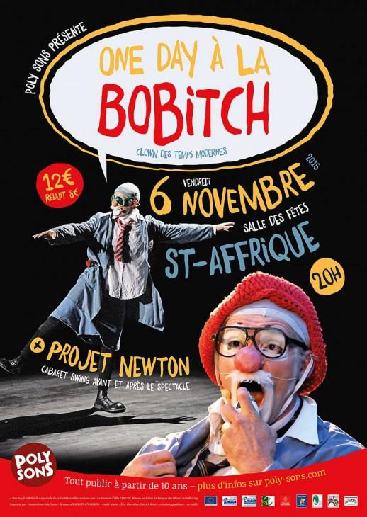 One Day à la Bobitch - affiche 6 nov 2015 Saint-Affrique