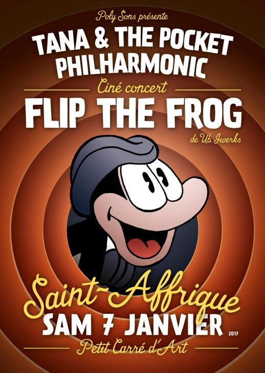 flip the frog Tana & the pocket philharmonic 07-01-2017 st affrique