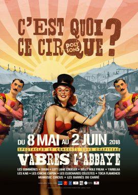 C'est Quoi Ce Cirque ? 2018 - affiche