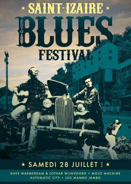 Saint-Izaire Blues Festival 2018 - affiche