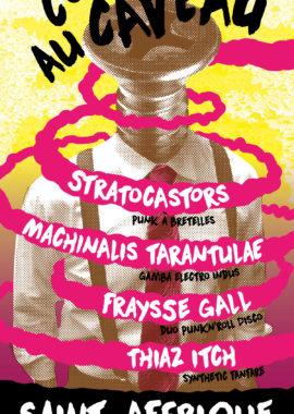 Concert au Caveau 28 septembre 2018 - affiche